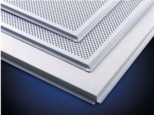 Aluminum Square Rectangle Tile Ceiling Luxury Integrated
