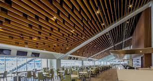 Aluminum Baffle Ceiling Luxury Integrated Ceiling
